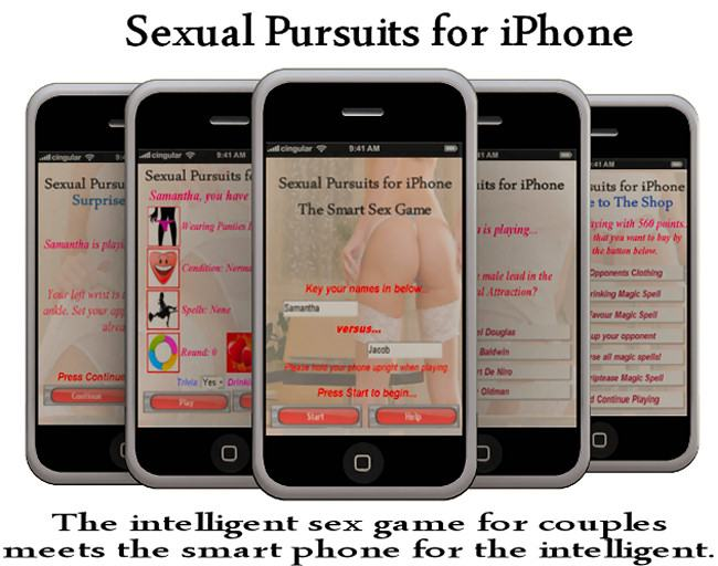 iPad sex game for couples